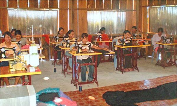 Ang Village Sewing Classes.