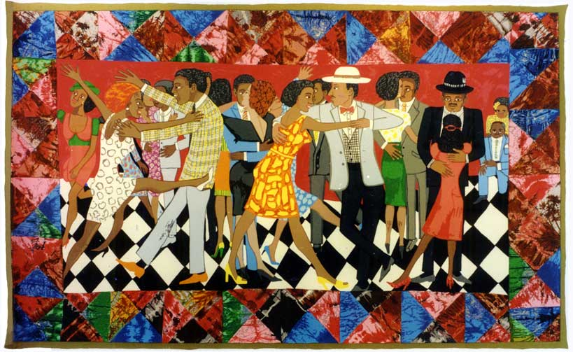 HONORING FAITH RINGGOLD AND HER COMMITMENT TO SOCIAL JUSTICE, WITH PDF GRANTEES
