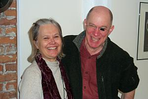 PDF Co-founders, Meg Gage and Bob Mazer
